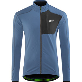 GORE WEAR C5 Thermo Trail Jersey Herr deep water blue/black